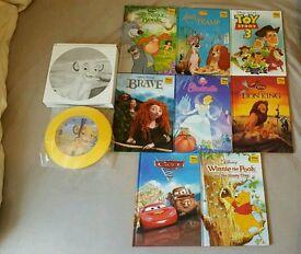 Childrens books Walt Disney. FREE CLOCK