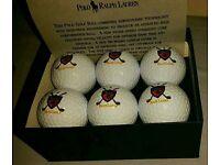 Poll Ralph Lauren Golf Ball Set (6 Balls)