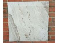Marble effect glossy porcelain tiles £12.99 sqm!