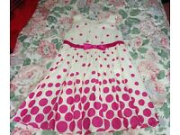 Girls mixed dresses aged 2-4