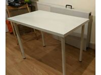 Ikea white dinning table / desk
