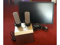 DELL monitor & speakers