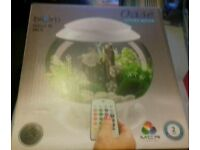 BIORB FISH TANK 15L HALO COLOUR GHANGING (RRP £100)