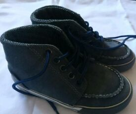 Boys Next boots grey, size 9. Great condition