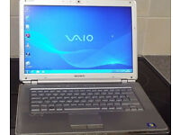 "Sony Vaio VGN-CR11S 14.1"" Laptop Intel Core 2 Duo T7100 1.80GHz 4.0GB DDR2,WINDOWS7"
