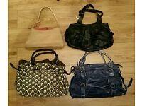handbag bundle x4 John Rocha, jane Shilton
