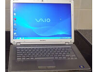 "ony Vaio VGN-CR11S 14.1"" Laptop Intel Core 2 Duo T7100 1.80GHz 4.0GB DDR2,WINDOWS7"