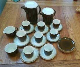 Poole pottery Complete compact 8 piece tea and coffee set