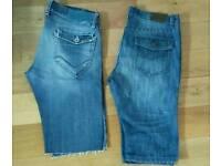 Jean shorts W34