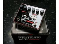 Electro Harmonix Memory Boy Deluxe stereo analog delay pedal