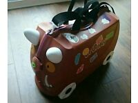 gruffalo trunki case with wheels for kids used