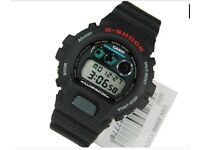 Casio Digital Sport Mens Watch G Shock Dw-6900-1v