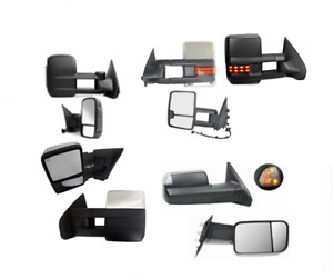 Towing mirrors side mirrors for Silverado Sierra Dodge ram Ford