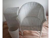 Furniture set (clothes basket, chair, Bin)