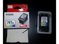 Cannon PIXMA printer 741XL color