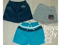 Boys 2-3 years shorts bundle