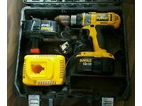 Dewalt 18v Humber drill