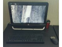 Hp All In One PC 20.5 inch 4gb Windows 10 Office