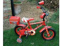 Fire fighter bike