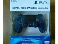 PS4 Dualshock Controller Midnight Blue