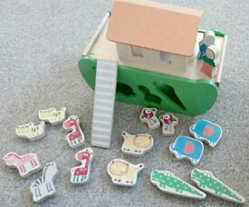 Wooden ark shape finder