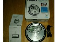 Philips CD player complete in box