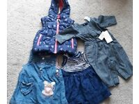 0-3mth baby girl clothes bundle