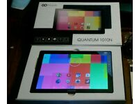 """10.1 """" go clever quantum 1010N android tablet 4.4.2 8gb kodi wifi hdmi bluetooth"""