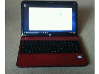 HP Pavilion G6 Laptop and charger. Good condition, running Windows 10