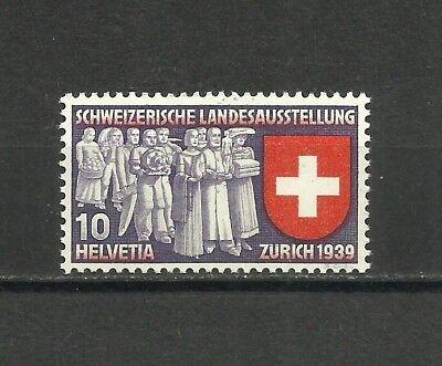 Suiza, 1939, Mi. 335, MNH