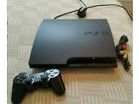 Sony Ps3 160Gb Slim Console With Games Model No: CECH-3003A