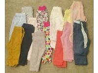 Baby Girl 0-3 & 3-6 & 6-9 Months Jeans/Leggings/Tops/Cardigans