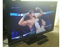 "SONY 32"" LCD 1080p Full HD TV. Built in Freeview Excellent Condition Fully Working with Remote"