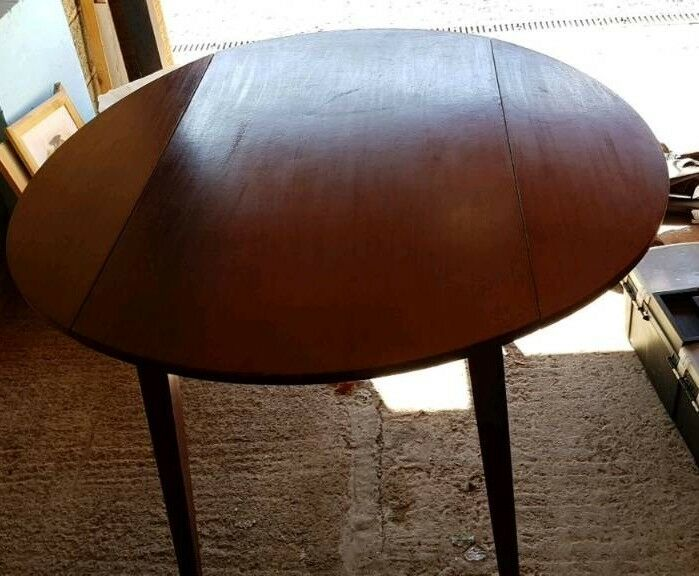 Dropleaf dining table