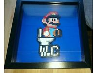 Nintendo pixel art Funny Super Mario Switch