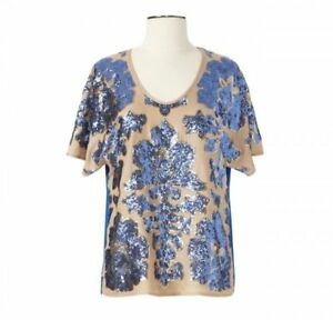 Tracy Reese for Neiman Marcus x Target -Sequin Blouse Size Small