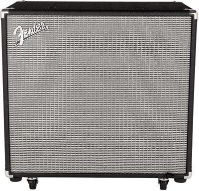 Fender Rumble 115 300W 1x15 Bass Speaker Cabinet 8 Ohms 300w Solid State Bass
