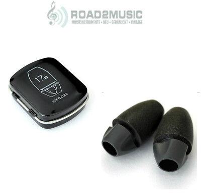 EAR-Q Acoustic Filter Earplug Gehörschutz Ohrstöpsel inkl. Transportdose *TOP*