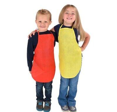 Children's Artists Fabric Aprons Kitchen, Classroom, Crafts & Art Painting 4 pk