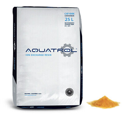 Water Softening Resin Softener Media Quality Replacement 100% Ion Exchange 1CuFt