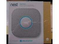 Nest wireless smoke and carbon monoxide detector fire alarm