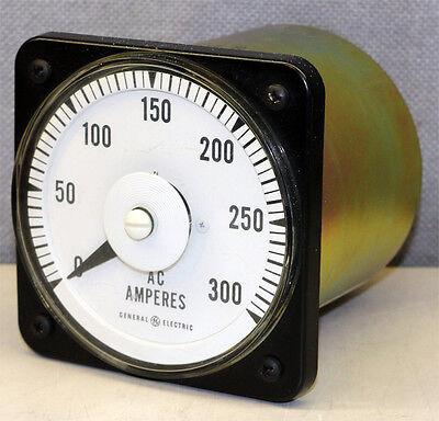 General Electric Yokogawa 103131lsrx Amperes Panel Meter Gauge