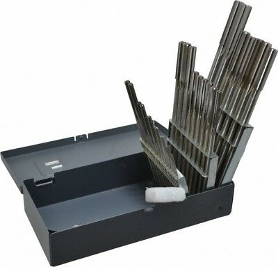 116 To 12 Chucking Reamer Set Straight Flute Right Hand Cut 29 Pieces