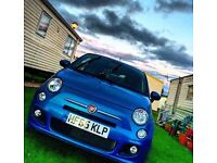 Fiat 500 S 1.2 Start/Stop engine Electronica Blue