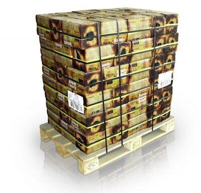 10 kg UNION 3 Zoll Kohle Brikett Kaminbrikett Heiz Briketts in der Papiertüte