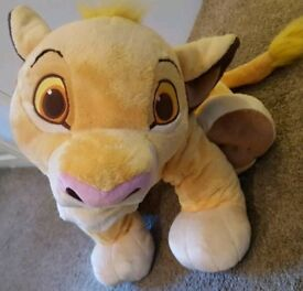 large Simba teddy disneystore