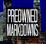 Preowned Markdowns