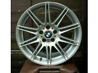 "A×1 GENUINE BMW 19"" 225M MV4 8J ALLOY RIM"