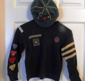 "CUB SCOUT SWEATER AND CAP (1950""s)"