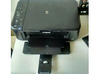 Canon printer with colour & black ink,